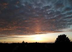 Ciel Eckbolsheim 67201 Soleil couchant