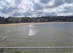 Mer Saint-Sebastien 38710 Beau temps sur la côte Basque