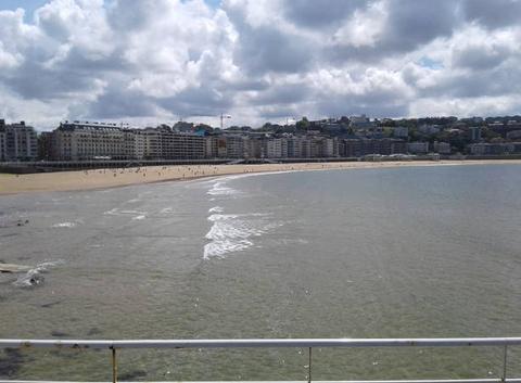 Beau temps sur la côte Basque