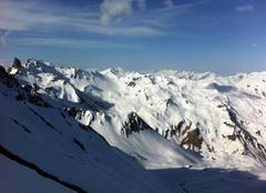 Neige Beaufort 73270 Belles conditions en montagne