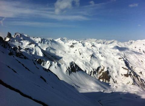 Belles conditions en montagne