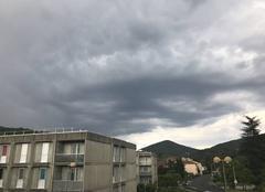 Pluie Le Vigan 30120 Elle arrive