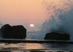 Ciel Soulac-sur-Mer 33780 Coucher du soleil