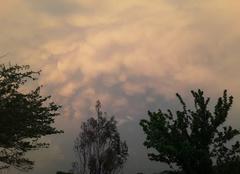 Orage Espaon 32220 Nuages d orage sur Espaon 32220