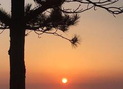 Ciel Baubigny 50270 Coucher de soleil sur Sercq