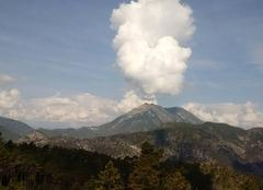 Nuages Levens 06670 Nuage sur le Mont Vial