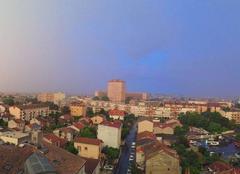 Pluie Toulouse 31000 Arrivée de la pluie