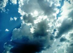 Ciel La Motte 83920 Juste avant l'orage