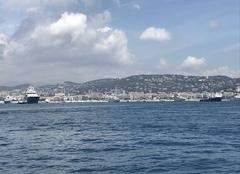 Mer Cannes 06400 Belle rade