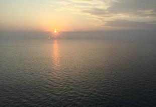 Mer Montoy-Flanville 57645 Lever de soleil