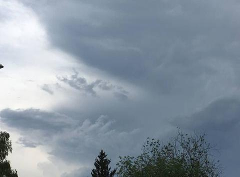 L?orage arrive