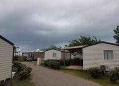 Pluie Vendres 34350 Vacance difficile