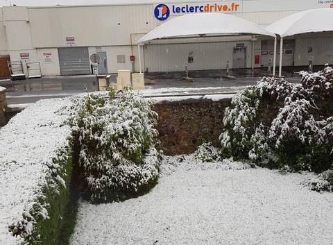 Neige à BRIVES-CHARENSAC