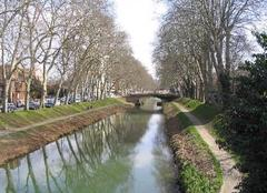 Climat Toulouse 31000 Au bord du Canal du Midi à Toulouse