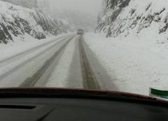 Neige La Bastide-Puylaurent 48250 Il neige au mois de mai