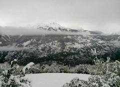 Neige Aime 73210 Retour de la neige