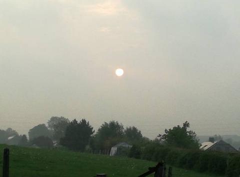 Soleil rond
