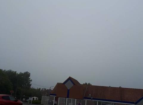 Ciel très brumeux couverture basse