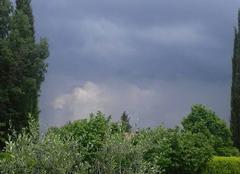Orage Aix-en-Provence 13100 La pluie arrive