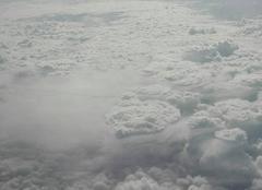Ciel Gap 05000 Nuages vu à 11000 mètres d'altitude