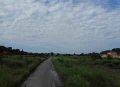Nuages Junas 30250 Ciel bleu matelassé de nuages