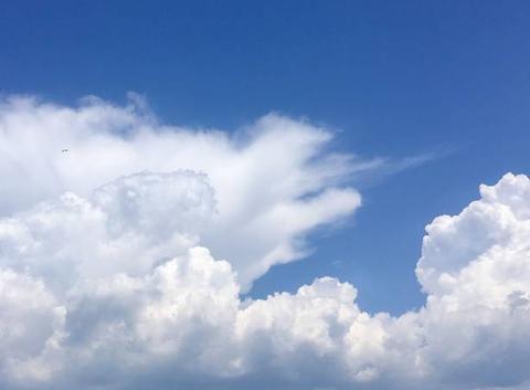 Cumulus en formation