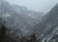Neige Breil-sur-Roya 06540 La neige a la maglia