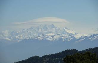 Nuages Chapareillan 38530 Mont Blanc sous un dome