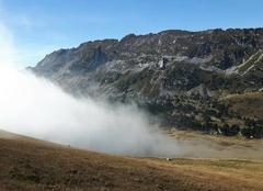 Nuages Saint-Bernard-du-Touvet 38660 Un nuage à l'assault