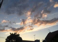 Ciel Clermont-Ferrand 63100 Coucher de soleil