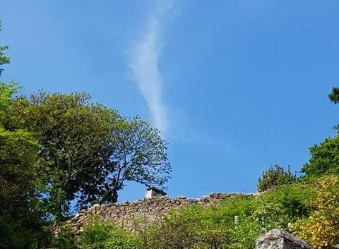 Un nuage....sortant de la cheminée!!!!