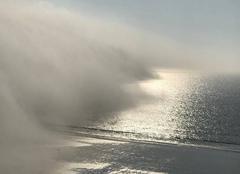 Insolite Erquy 22430 Front de brume à Erquy