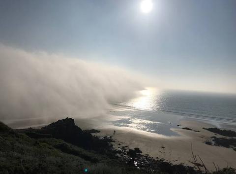 Banc de brume à Erquy