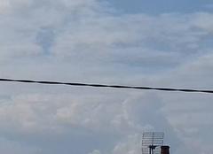 Nuages Saint-Eusebe 71210 Cumulonimbus en formation