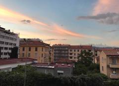 Nuages Ajaccio 20000 Soir de Mai sur Ajaccio