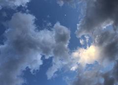Ciel Saint-Jean-d'Illac 33127 Le soir nuageux à st jean d?illac