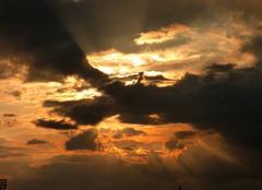 Ciel Niort 79000 Après l'orage...