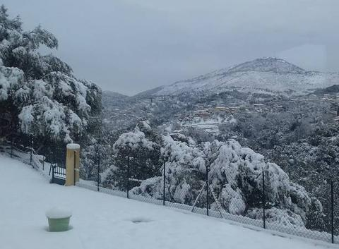 Neige à Colomars 06670