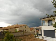 Pluie Gallargues-le-Montueux 30660 Ciel noir
