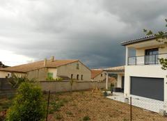 Pluie Gallargues-le-Montueux 30660 Orageux