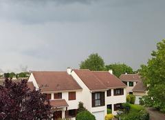 Orage Montesson 78360 Gros orage en vue....