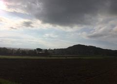 Ciel Mours-Saint-Eusebe 26540 Averse sur le soleil