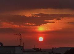 Ciel Reims 51100 Coucher de soleil