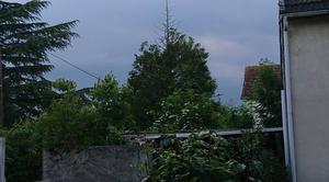 Orage Cocherel 77440 Ciel gris orageux