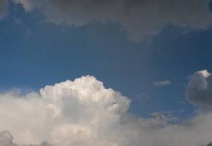 Ciel Rambouillet 78120 Nuages d'orages...
