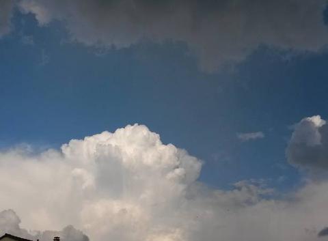 Nuages d'orages...