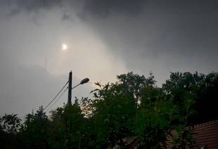 Ciel Poigny-la-Foret 78125 L'orage touche à sa fin...