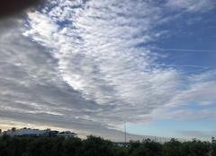 Ciel Cannes 06400 Les moutons dans le ciel