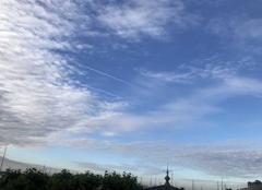 Ciel Cannes 06400 Lever du jour