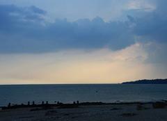 Ciel Saint-Nazaire 44600 L'orage gronde